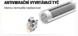 Nové antivibrační vyvrtávací tyče