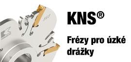 Kennametal KMS - frézy KMS pro úzké drážkování